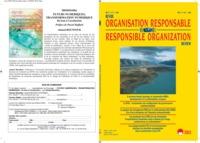 REVUE ORGNISATION RESPONSABLE VOL 11 N 2-2016 - LA SCIC : COMPRENDRE UNE CONFIGURATION DE GOUVERNANC