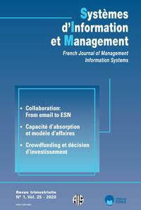 CAPACITE D'ABSORPTION ET MODELE D'AFFAIRES - SIM 1-2020 - SYSTEMES D'INFORMATION ET MANAGEMENT VOL 2