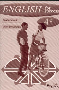 ENGLISH FOR SUCCESS 4E  TEACHER'S BOOK