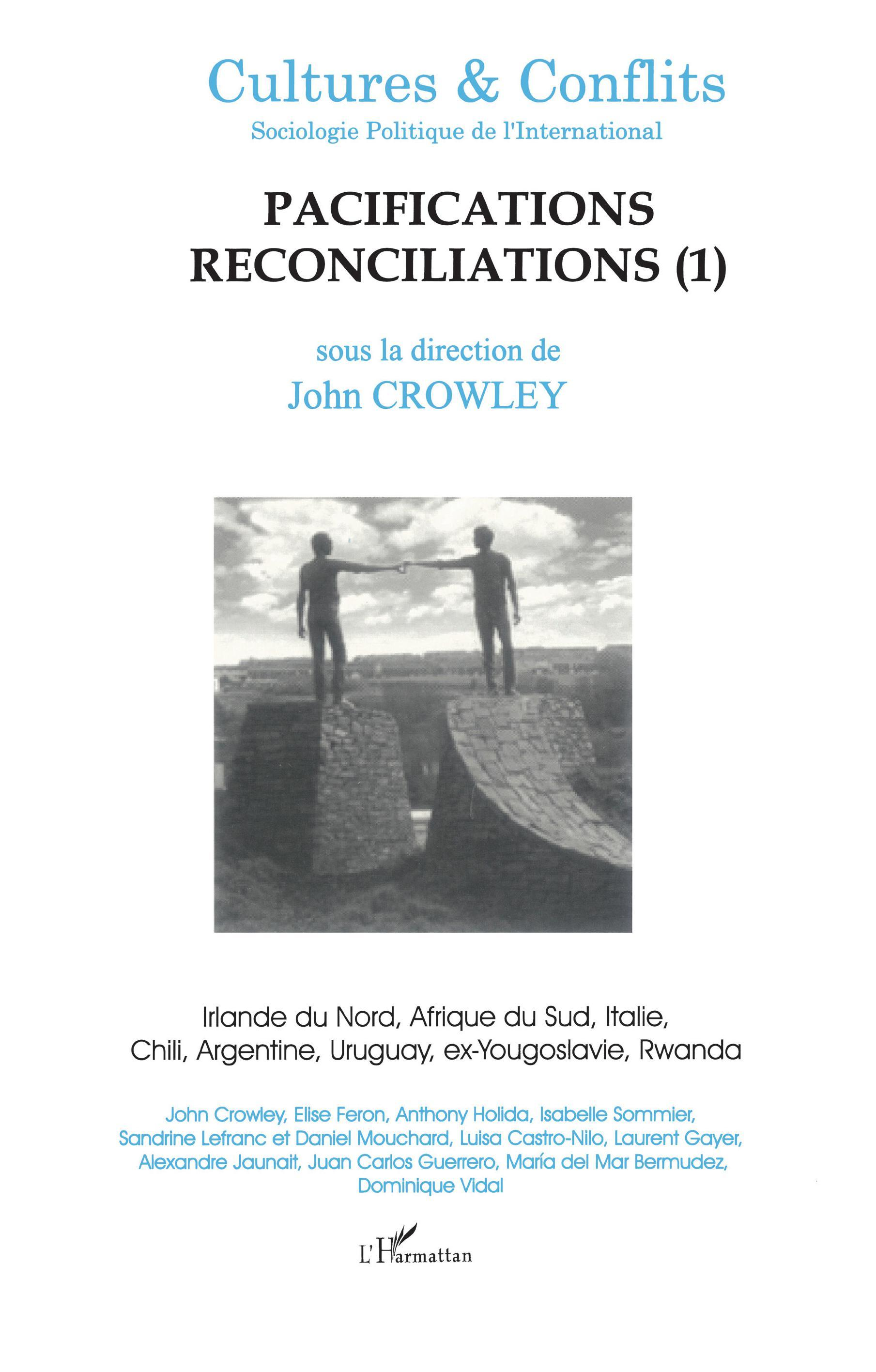 PACIFICATIONS RECONCILIATIONS