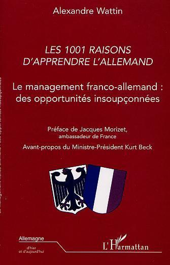 1001 RAISONS D'APPRENDRE L'ALLEMAND LE MANAGEMENT FRAN
