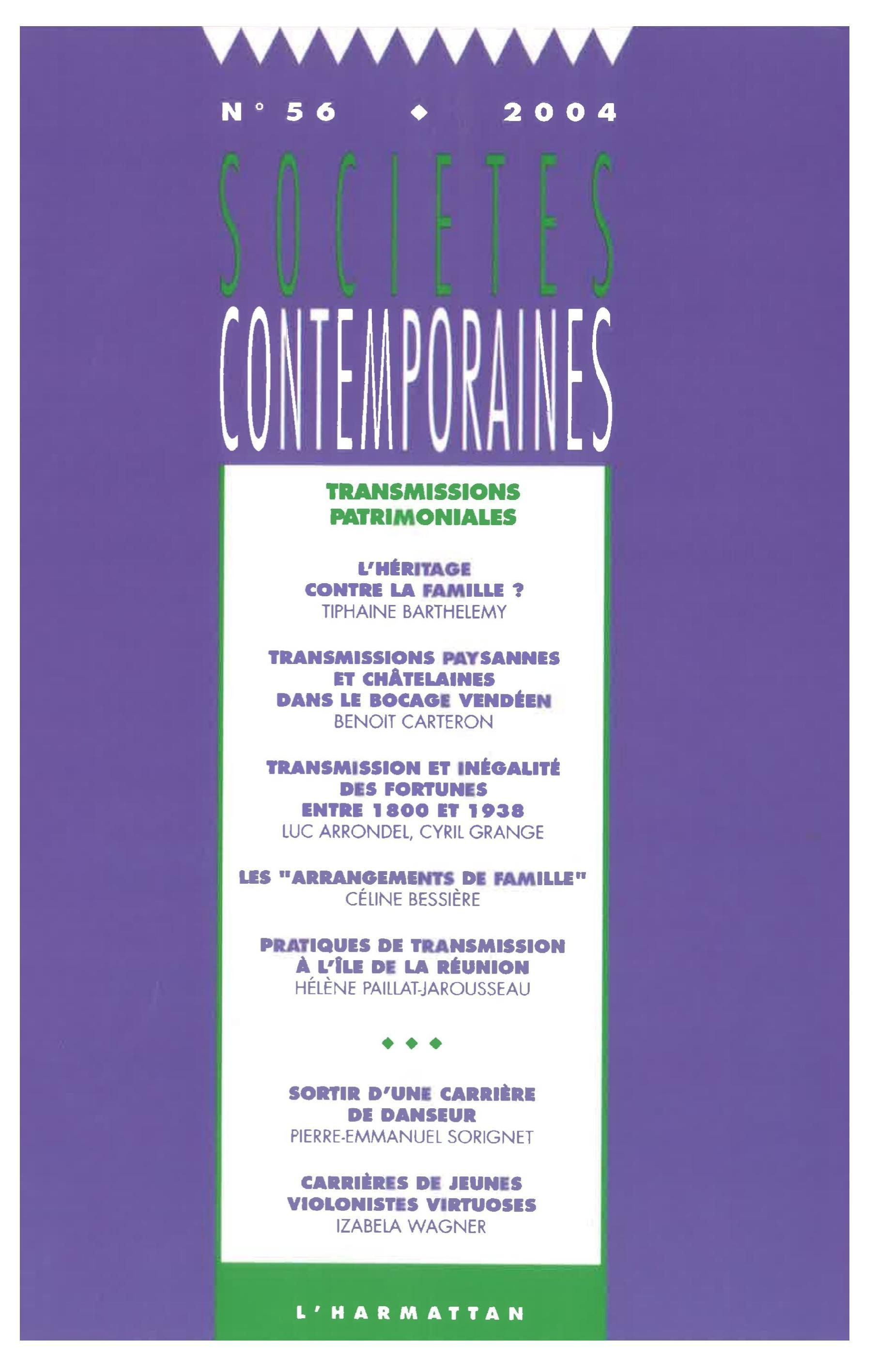 Transmissions patrimoniales