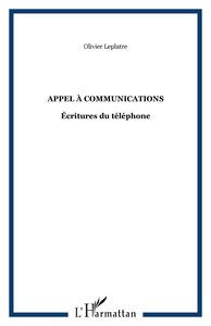Appel à communications