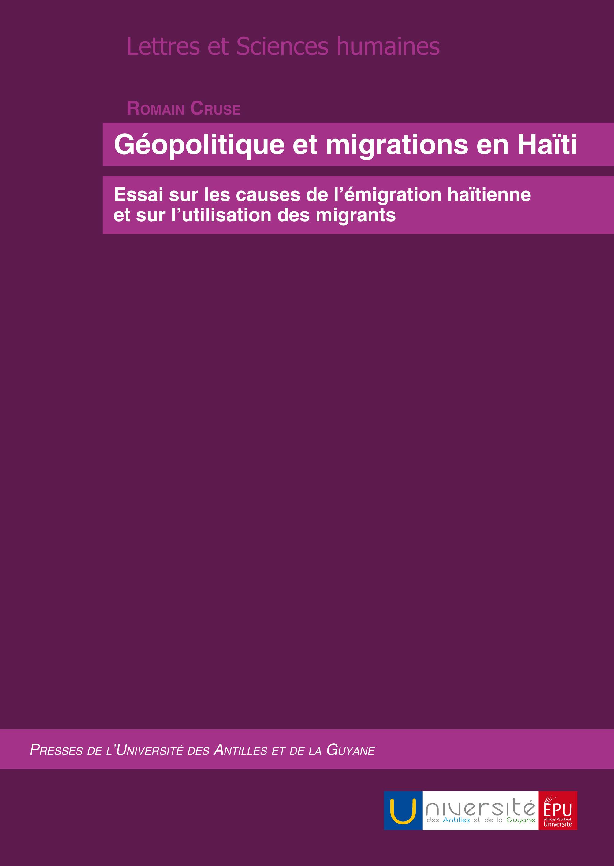 GEOPOLITIQUE ET MIGRATIONS EN HAITI