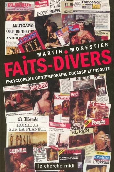 FAITS DIVERS ENCYCLOPEDIE CONTEMPORAINE COCASSE ETINSOLITE
