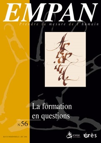 EMPAN 056 - LA FORMATION POUR QUOI FAIRE ?