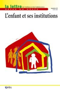 GRAPE 63 - L'ENFANT ET SES INSTITUTIONS