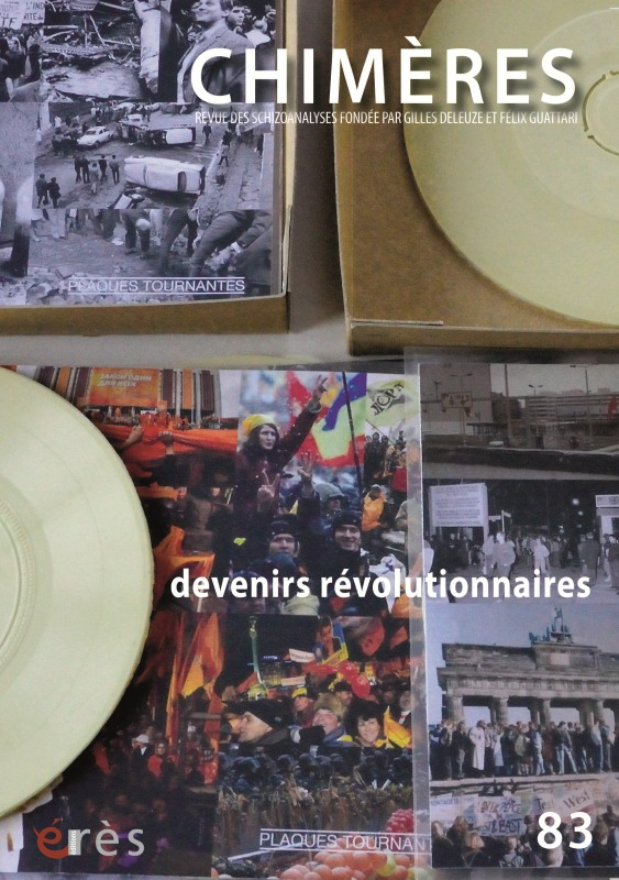 CHIMERES 083 - DEVENIRS REVOLUTIONNAIRES