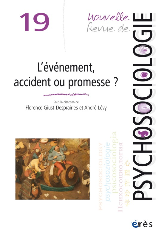 NRP 19 - L'EVENEMENT, ACCIDENT OU PROMESSE ?