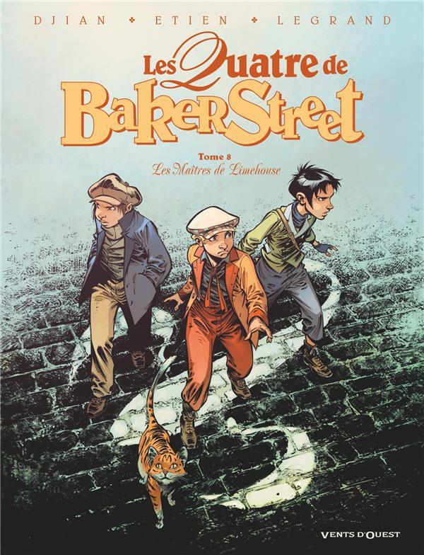 Les quatre de baker street - tome 08 - les maitres de limehouse