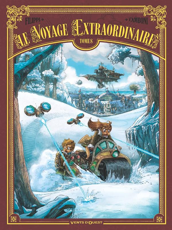 Le voyage extraordinaire - tome 08 - cycle 3 - vingt mille lieues sous les glaces 2/3