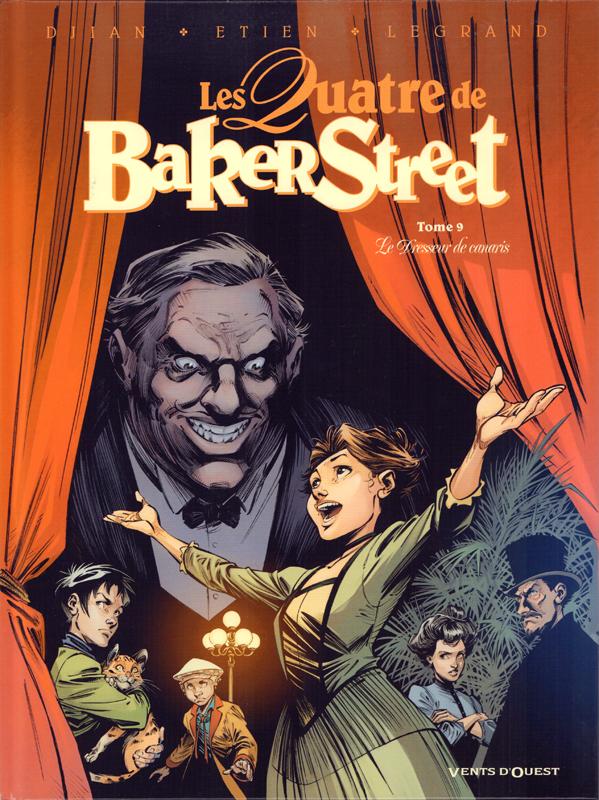 Les quatre de baker street - tome 09 - le dresseur de canaris