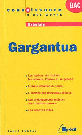 GARGANTUA - RABELAIS