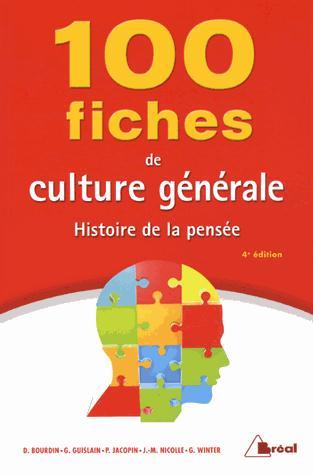 100 FICHES DE CULTURE GENERALE