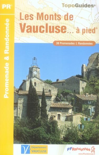MONTS DU VAUCLUSE A PIED 2006 - 84 - PR - P842