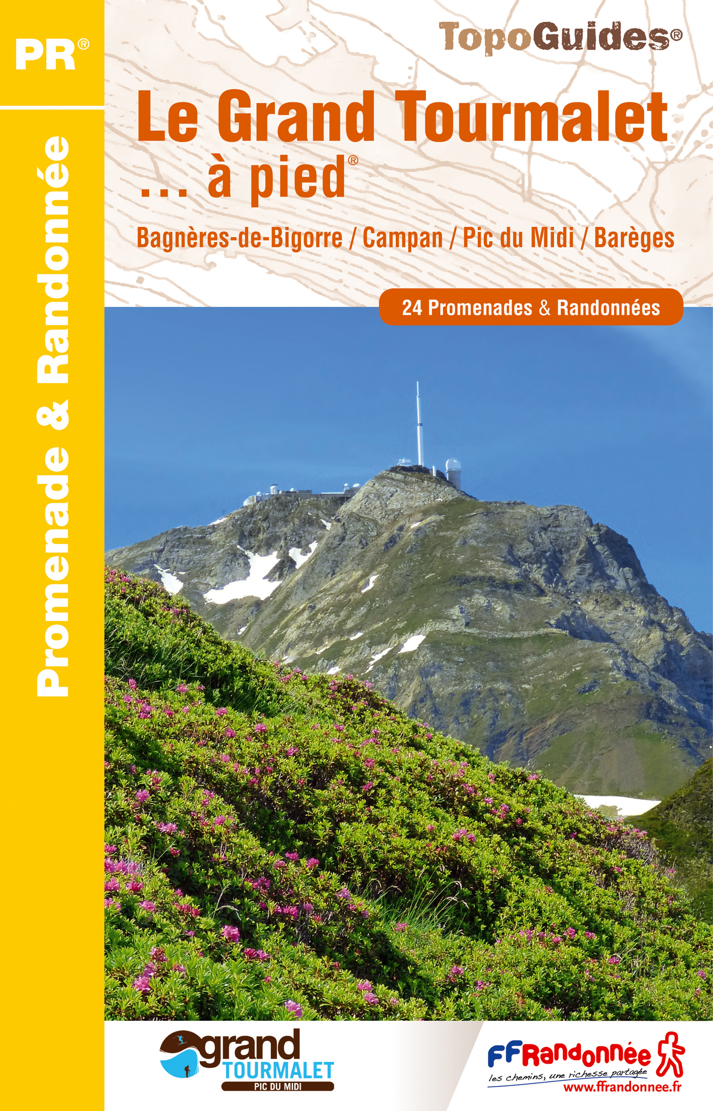 GRAND TOURMALET ET VALLEES A PIED NED 2016 - 65 - PR - ST08