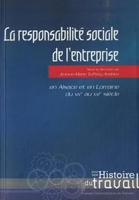 RESPONSABILITE SOCIALE DE L ENTREPRISE