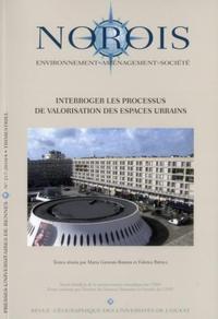 INTERROGER LES PROCESSUS DE VALORISATION DES ESPACES URBAINS