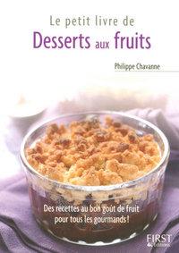 PETIT LIVRE DE DESSERTS AUX FRUITS