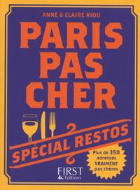 PARIS PAS CHER 2013 - SPECIAL RESTOS