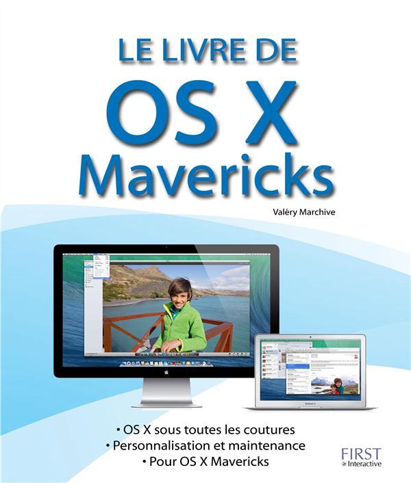 LE LIVRE DE OS X MAVERICKS EN POCHE
