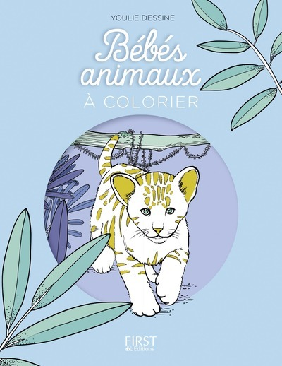BEBES ANIMAUX A COLORIER