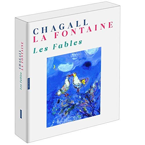 LES FABLES DE LA FONTAINE ILLUSTREES PAR CHAGALL (COFFRET)
