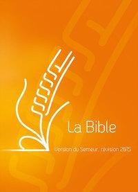 BIBLE SEMEUR COUVERTURE RIGIDE ORANGE