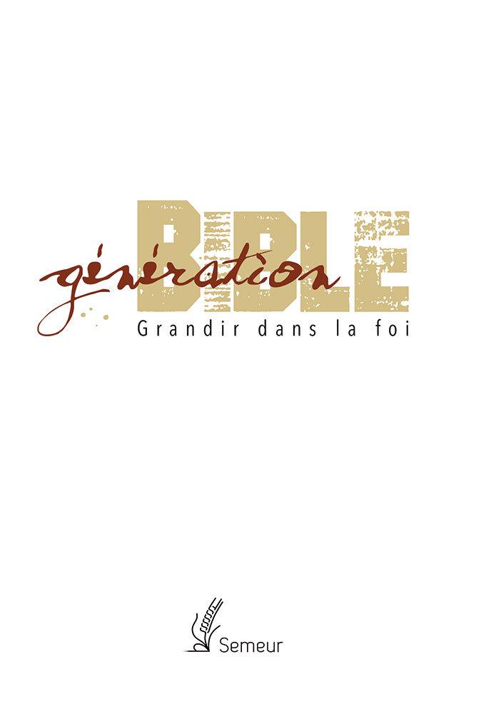 GENERATION BIBLE BLANCHE