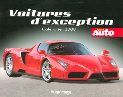CALEND 2008 VOITURES D EXCEPTI