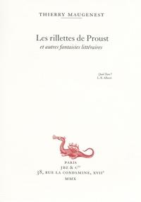 RILLETTES DE PROUST ET AUTRES