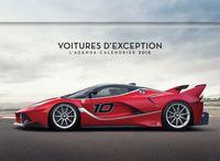 L'AGENDA-CALENDRIER VOITURES D'EXCEPTION 2016