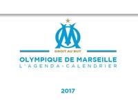 L'AGENDA-CALENDRIER OLYMPIQUE DE MARSEILLE 2017
