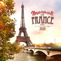 CALENDRIER MURAL MONUMENTS DE FRANCE 2020