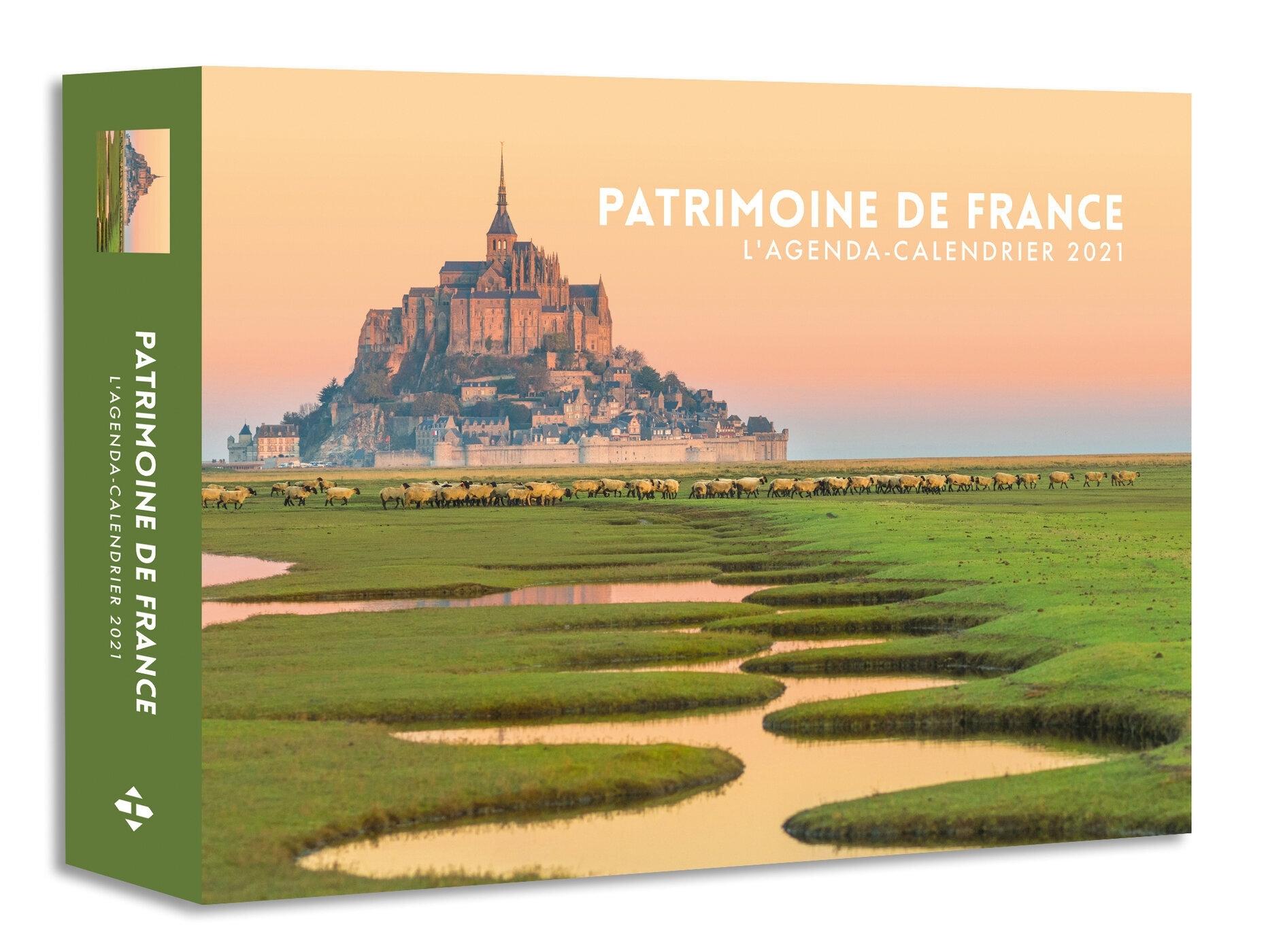 AGENDA CALENDRIER PATRIMOINE DE FRANCE 2021