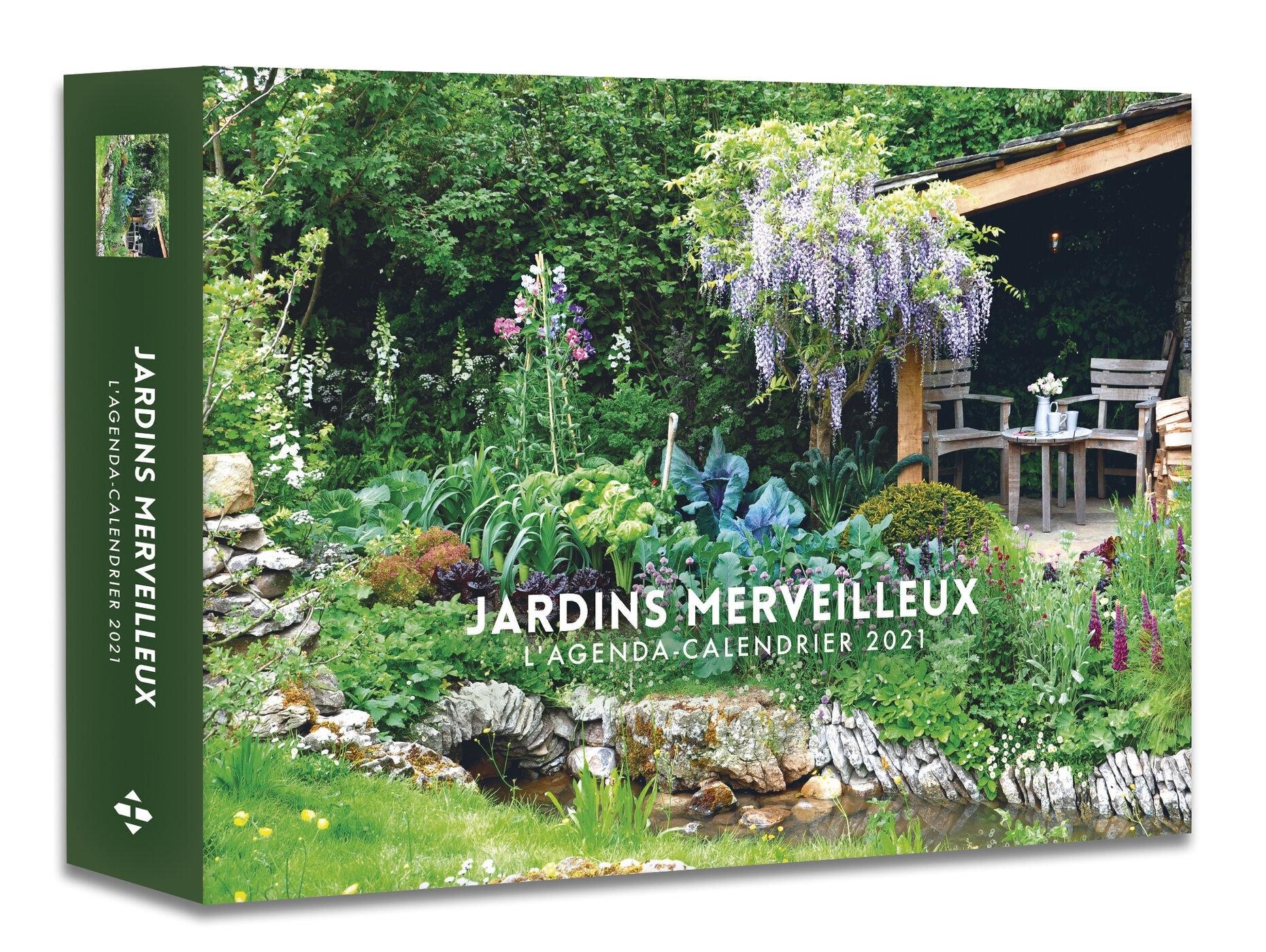 AGENDA CALENDRIER JARDINS MERVEILLEUX 2021