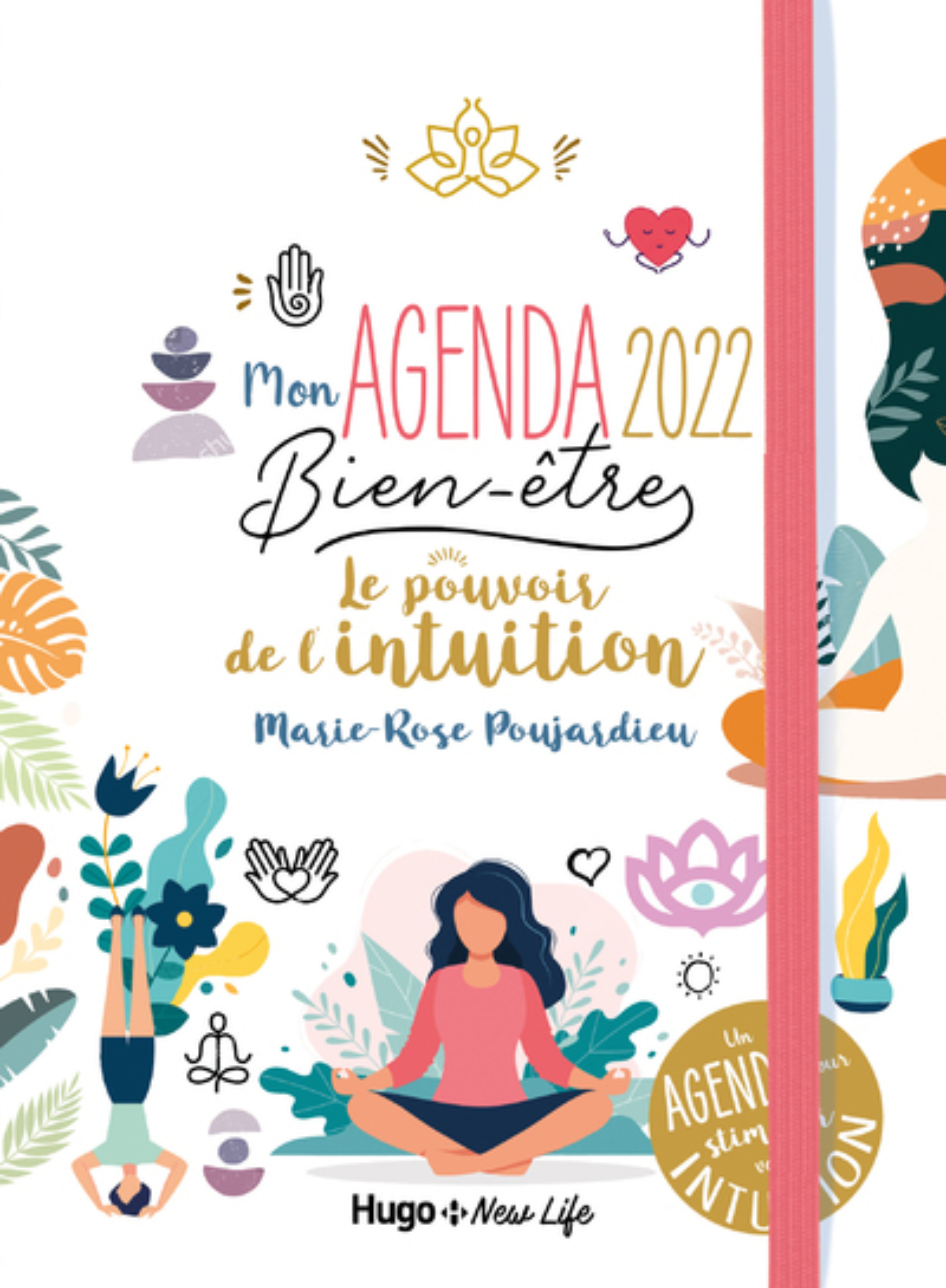 MON AGENDA LE POUVOIR DE L'INTUITION 2022