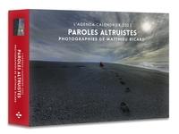 L'AGENDA - CALENDRIER DE L'ALTRUISME PHOTOGRAPHIES DE MATTHIEU RICARD 2022