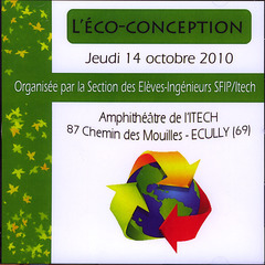 L'ECO-CONCEPTION (14 OCT, 2010, ECULLY) CD-ROM