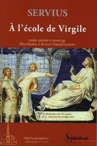 """A L'ECOLE DE VIRGILE COMMENTAIRE A L'""""ENEIDE"""", LIVRE I"""