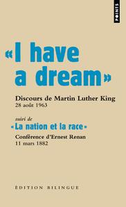 """"""" I HAVE A DREAM """". DISCOURS DU PASTEUR MARTIN LUTHER KING, WASHINGTON D.C., 28 AOUT 1963"""