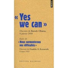 """ YES WE CAN "". DISCOURS DE BARACK OBAMA, CANDIDATA LA PRESIDENCE DES ETATS-UNIS, A NASHUA"