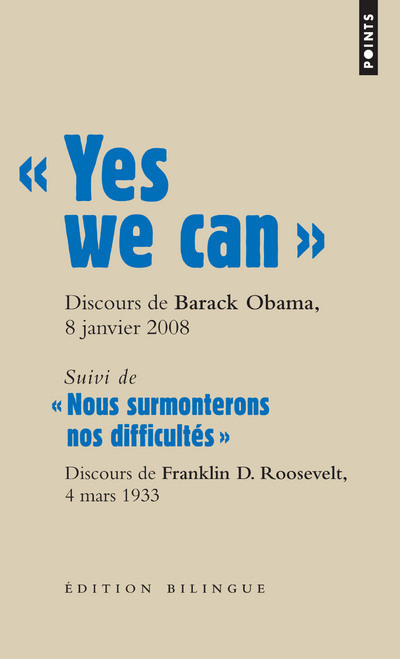 """ YES WE CAN "". DISCOURS DE BARACK OBAMA, CANDIDATA LA PRESIDENCE DES ETATS-UNIS, A NASHUA"