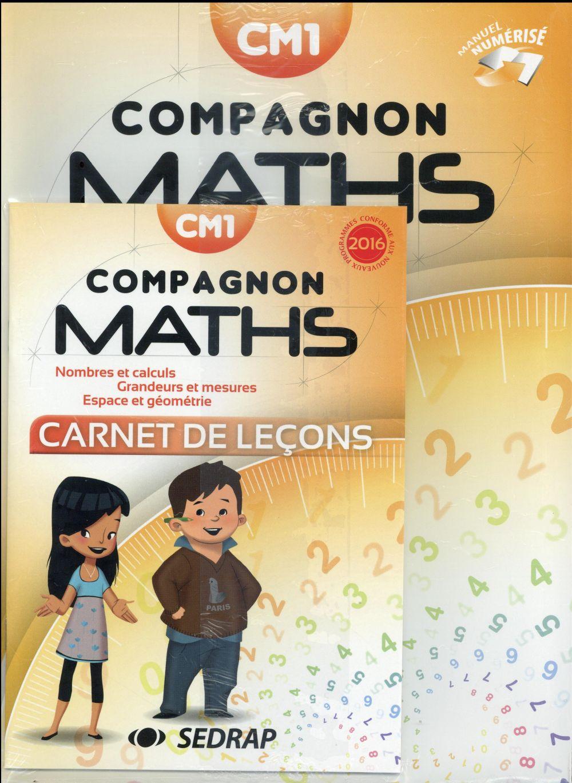Compagnon maths cm1 manuel edt 2016