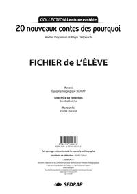 20 NOUVEAUX CONTES DES POURQUOI - FICHIER