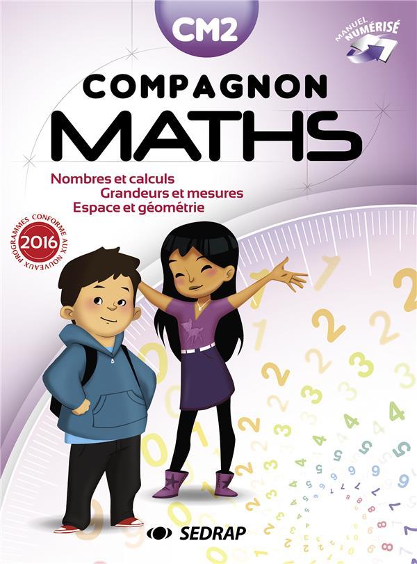 Compagnon maths cm2 manuel edt 2017