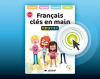 FRANCAIS CLES EN MAIN CE1 CE2 - VERSION INTERACTIVE