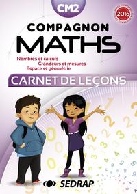 COMPAGNON MATHS CM2 - CARNET DE LECONS - LOT DE 5