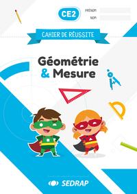 CAHIERS DE REUSSITE GEO & MESURES CE2 - LOT DE 5