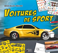 MAXI BLOC RECRE VOITURES DE SPORT